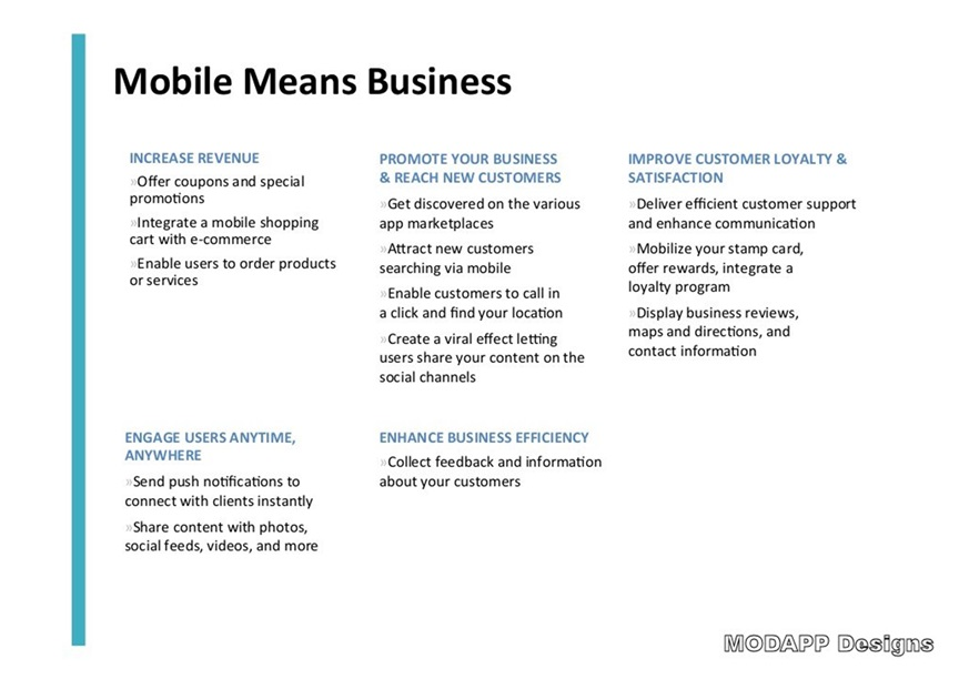 WHY MOBILE?